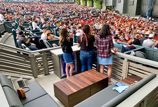 Vip Boxes At Hollywood Casino Amphitheater